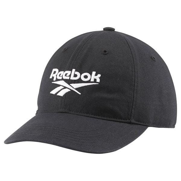 REEBOK CL LOST & FOUND CAP 帽子 老帽 棒球 休閒 黑【運動世界】CE3432