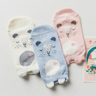午睡小動物棉感短襪 大人襪子 粉色系棉襪
