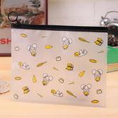 文件袋 日韓可愛卡通資料袋 繽紛款 【易奇寶】