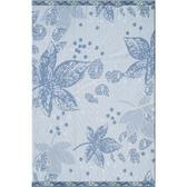 悠樂家仿布織紋榻榻米(藍楓葉)60x90x3cm 3入