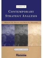 二手書博民逛書店 《Cases in Contemporary Strategy Analysis》 R2Y ISBN:0631213600