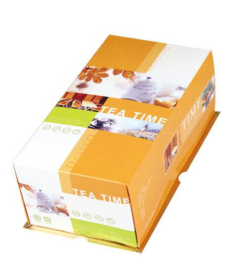 {美好時光}一條Roll瑞士捲 蛋糕盒 (50入/組)