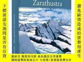 二手書博民逛書店[德文•罕見] (精裝)尼采《查拉圖斯特拉如是說》Also sprach ZarathustraY169321