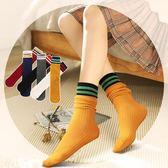 堆堆襪薄款夏季襪子女棉質中筒襪正韓學院風日繫百搭韓國春秋長襪 满398元85折限時爆殺