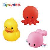 樂雅 Toyroyal 軟膠 小鴨/章魚/鯨魚 洗澡玩具