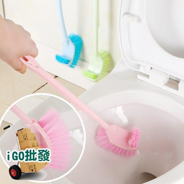 ❖i go shop❖ 雙面馬桶刷 加長加厚雙面清潔刷 長柄馬桶刷 彎曲縫隙刷【F0004】
