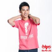 BOBSON 男款印圖短袖上衣(20041-21)