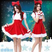 聖誕節 成人女聖誕洋裝服裝性感兔女郎聖誕舞會紅色洋裝舞台演出套裝 聖誕交換禮物