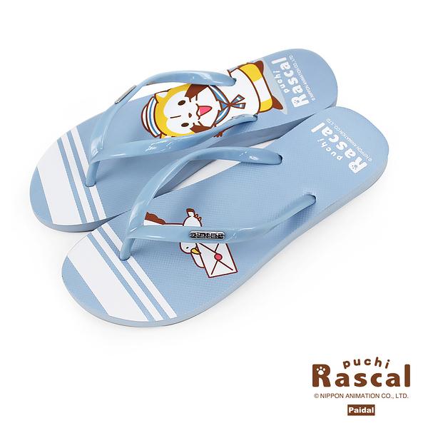 Paidal x Rascal小小浣熊水手足弓夾腳拖人字拖