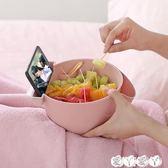 果盤 雙層水果盤瀝水籃家用懶人糖果盤盒創意廚房客廳嗑吃瓜子盤塑料 【全館9折】