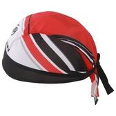 自行車頭巾 抗UV-星將紅海雙色拼接男女單車運動頭巾73fo53【時尚巴黎】
