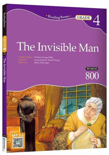 The Invisible Man【Grade 4】(2nd Ed.)(25K經典文學改寫讀本)