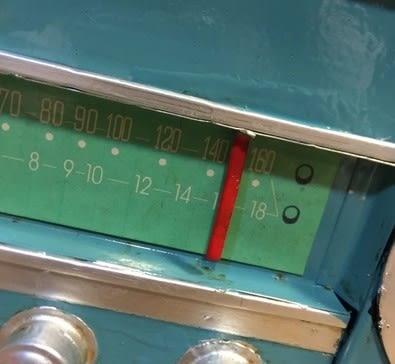 [協貿國際]   收音機擺件咖啡廳桌面裝飾品擺設  (1入)