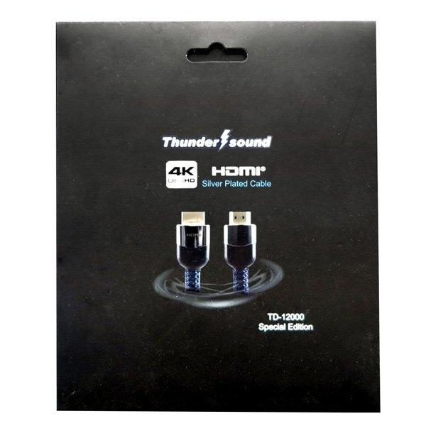 《名展影音》 Thunder sound TD-12000 HDMI線 1.5M