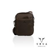 【VOVA】羅馬系列直式斜背包-小(懷舊棕)VA115S05BR