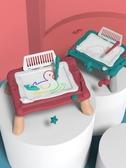 塗鴉板畫畫板寶寶玩具0嬰兒4小孩6兒童寫字板 【傑克型男館】