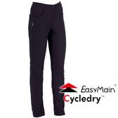 EasyMain 衣力美 RE16054-75黑  女 彈性防風保暖休閒褲