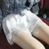 蕾絲安全褲防走光夏薄款透氣保險褲大碼寬鬆打底短褲外穿女『全館一件八折』