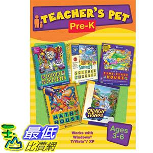 [106美國暢銷兒童軟體] Teacher s Pet Pre Kindergarten
