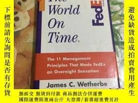 二手書博民逛書店英文原版罕見The World on Time: The 11