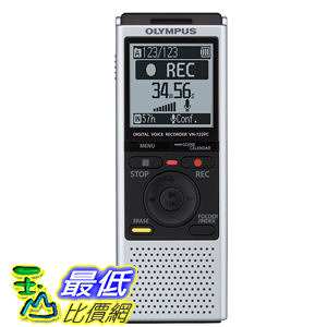 [103 美國直購 ShopUSA] Olympus VN-722PC Voice Recorders with 4 GB Built-In-Memory 錄音機 $2599