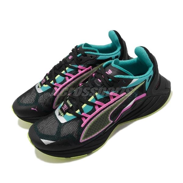 Puma 慢跑鞋 UltraRide FM Xtreme Wns 黑 粉 女鞋 涼感透氣 輕量避震 運動鞋 【ACS】 19375901