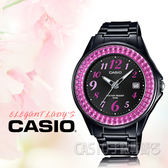 CASIO手錶專賣店 LX-500H-1B_時尚 指針女錶_橡膠錶帶_全新品_保固一年開發票