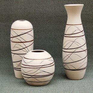新款三件套71 簡約時尚 陶瓷工藝擺設 花瓶花器 陶瓷花插 空運來台
