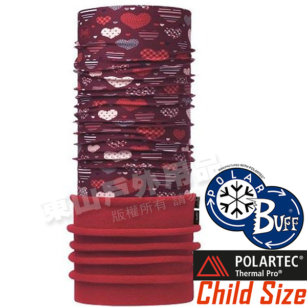 BUFF 115489.632 Child Polar 兒童單面保暖魔術頭巾 Polartec機能布料 東山戶外