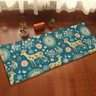 梅花鹿圖案地墊(長) 門墊 腳墊 地毯 玄關 浴室 廚房 臥室 客廳 防滑 時尚【V027】米菈生活館