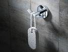 【麗室衛浴】Rousseau 76802 銅電鍍雙衣鉤
