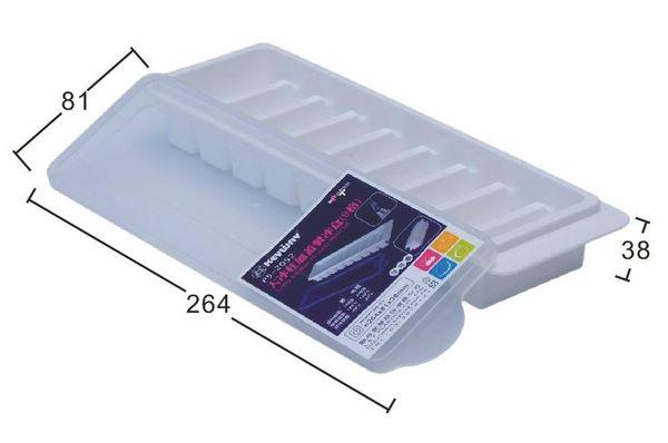 【好市吉居家生活】嚴選聯府KEYWAY~P5-2052 大冰柱加蓋製冰盒(9格) 冰塊