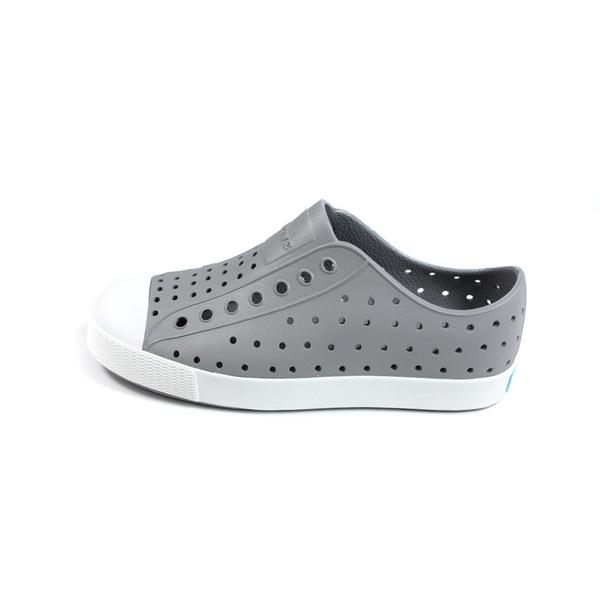 native JEFFERSON 懶人鞋 洞洞鞋 灰色 童鞋 12100100-1501 no339