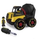 美國 STANLEY Jr. 組裝工程車-水泥車 聖誕禮物