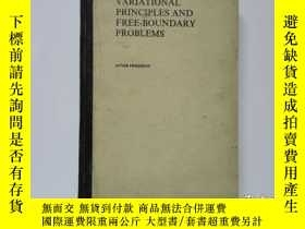 二手書博民逛書店舊書外文《VARIATIONAL罕見PRINCIPLES AND FREE-BOUNDARY PROBLEMS》變