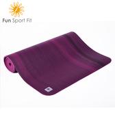 Fun Sport fit 瓦妮莎-小漫步環保瑜珈墊-(6mm)送背袋