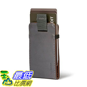 [106美國直購] Distil Union WM101 灰/卡其 Wally Micro 迷你信用卡皮夾 Slim Wallet and Card Holder