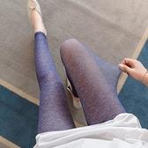 內搭褲 冰絲打底褲女外穿超薄款七分褲夏高腰彈力2021新款大碼網紗九分褲【快速出貨】