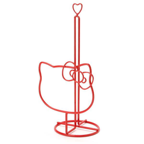 Hello Kitty紙巾架 造型廚房滾筒紙巾架/衛生紙架 [喜愛屋]