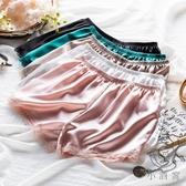 3件裝三分打底褲安全褲防走光女可內外穿薄款蕾絲寬鬆居家短褲