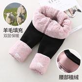冬季特厚加絨加厚打底褲 女童寶寶外穿三層超厚兒童保暖棉褲子