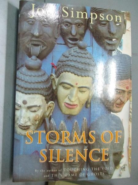 【書寶二手書T2/體育_ETH】Storms of Silence_Simpson, Joe