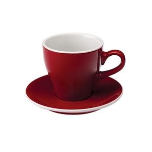Loveramics Pro-Tulip拿鐵咖啡杯盤組-共8色紅