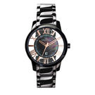 Max Max 浪漫風情陶瓷腕錶-黑...