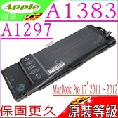 A1383 電池(原裝等級)-蘋果 APPLE A1297,MB766LL/A ,MC024LL/A,MB604,MC024 , MC725,MD311,MB076LL/A,MB604LL/A