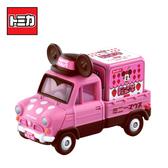 【日本正版】TOMICA 米妮 小貨車 白色情人節版 玩具車 Minnie Disney Motors 多美小汽車 - 146407