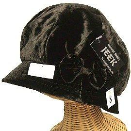 【波克貓哈日網】保暖細絨圓帽  ◇JEER◇《咖啡色》日本進口,品質保證