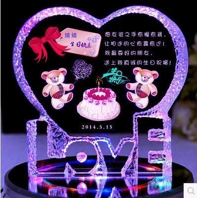 食尚玩家 送給女生的創意生日禮物朋友閨蜜老婆浪漫實用情人節表白小禮品