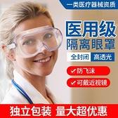 護目鏡 用眼罩防護眼鏡防疫病毒隔離眼鏡院防護防霧防飛沫噴濺護目鏡