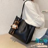 包包女斜背包百搭大容量單肩包潮時尚大學生上課包托特包側背包
